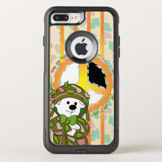 Capa iPhone 8 Plus/7 Plus Commuter OtterBox iPhone 7 de Apple do SOLDADO do URSO positivo