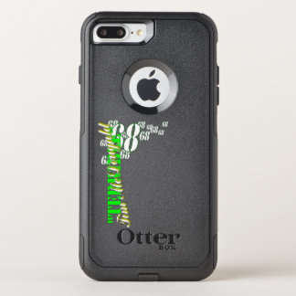 "Capa iPhone 8 Plus/7 Plus Commuter OtterBox ""iPhone 7 de Tim terrível""+/8+ Caso"