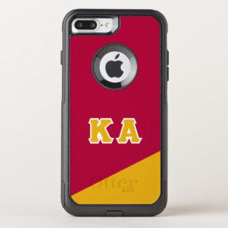Capa iPhone 8 Plus/7 Plus Commuter OtterBox Letras alfa do grego da ordem | do Kappa