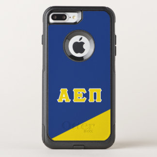 Capa iPhone 8 Plus/7 Plus Commuter OtterBox Letras alfa do grego do Pi | do épsilon