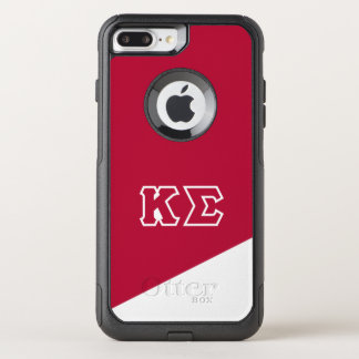 Capa iPhone 8 Plus/7 Plus Commuter OtterBox Letras do grego do Sigma | do Kappa