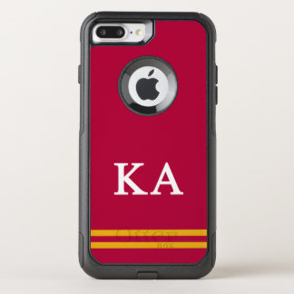 Capa iPhone 8 Plus/7 Plus Commuter OtterBox Listra alfa do esporte da ordem | do Kappa
