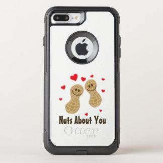 Capa iPhone 8 Plus/7 Plus Commuter OtterBox Loucos sobre você humor engraçado da chalaça da