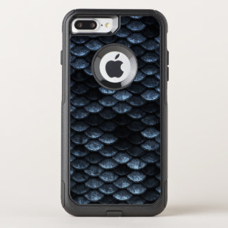 Capa iPhone 8 Plus/7 Plus Commuter OtterBox Máscaras azuis profundas do teste padrão das