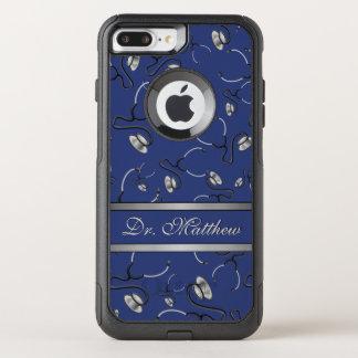 Capa iPhone 8 Plus/7 Plus Commuter OtterBox Médico, enfermeira, medique estetoscópios