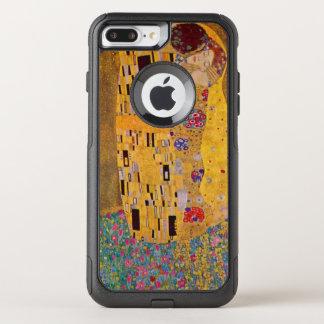 Capa iPhone 8 Plus/7 Plus Commuter OtterBox O beijo por Klimt