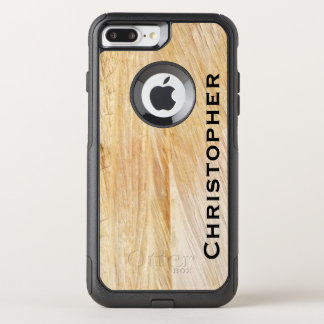 Capa iPhone 8 Plus/7 Plus Commuter OtterBox O falso de Brown apedreja o iPhone 7 da viagem ao
