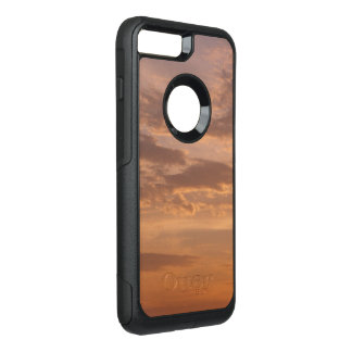 Capa iPhone 8 Plus/7 Plus Commuter OtterBox O por do sol nubla-se a fotografia abstrata da