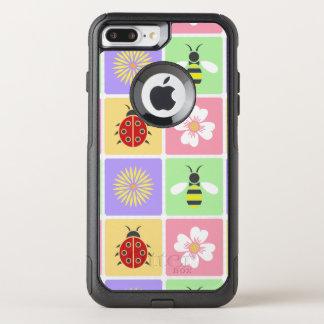 Capa iPhone 8 Plus/7 Plus Commuter OtterBox O primavera remenda a capa de telefone de Otterbox