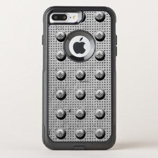 Capa iPhone 8 Plus/7 Plus Commuter OtterBox Placa da estrada do metal
