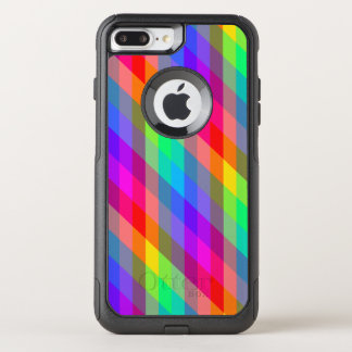 Capa iPhone 8 Plus/7 Plus Commuter OtterBox Prisma do arco-íris