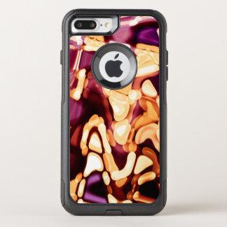 Capa iPhone 8 Plus/7 Plus Commuter OtterBox Reflexões psicadélicos