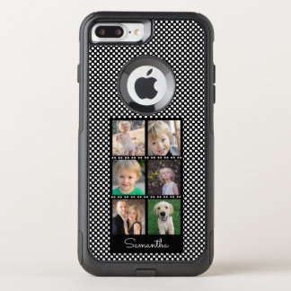 Capa iPhone 8 Plus/7 Plus Commuter OtterBox Seis colagens da família das fotos
