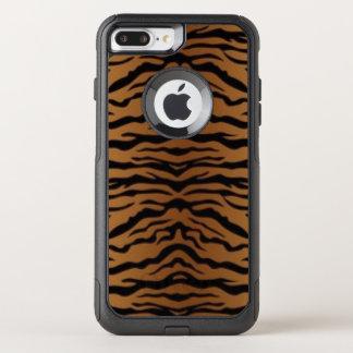 Capa iPhone 8 Plus/7 Plus Commuter OtterBox Tigre preto de Brown