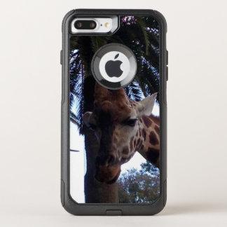 Capa iPhone 8 Plus/7 Plus Commuter OtterBox Vigia do girafa,