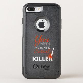 Capa iPhone 8 Plus/7 Plus Commuter OtterBox Você inspira meu assassino em série interno