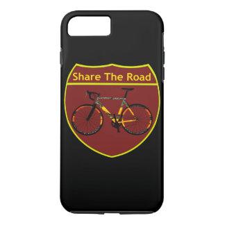 Capa iPhone 8 Plus/7 Plus Compartilhe da estrada