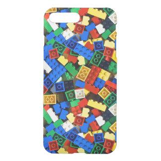 Capa iPhone 8 Plus/7 Plus Construção dos tijolos da construção dos blocos de
