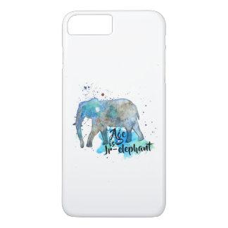 Capa iPhone 8 Plus/7 Plus Cor de água do elefante