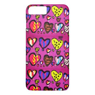 Capa iPhone 8 Plus/7 Plus coração do sorvete