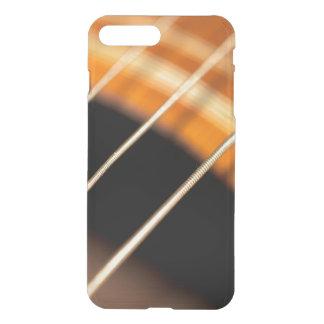 Capa iPhone 8 Plus/7 Plus Cordas de vibração arrancadas da guitarra acústica