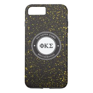 Capa iPhone 8 Plus/7 Plus Crachá do Sigma | do Kappa da phi