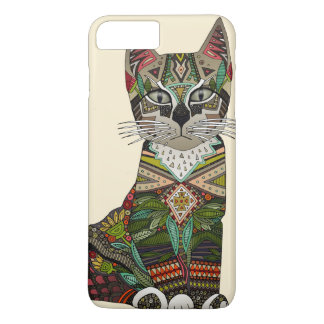 Capa iPhone 8 Plus/7 Plus creme do gatinho do pixiebob