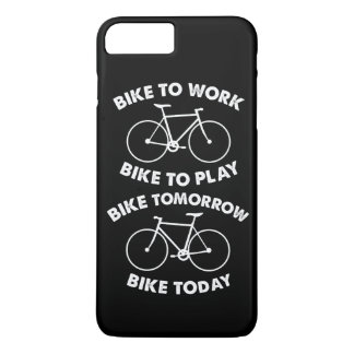 Capa iPhone 8 Plus/7 Plus Da bicicleta ciclismo legal para sempre -