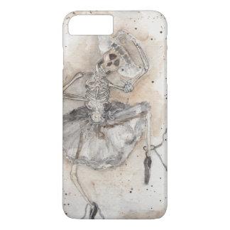 Capa iPhone 8 Plus/7 Plus danças do esqueleto do balé
