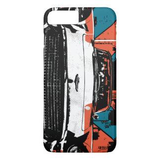Capa iPhone 8 Plus/7 Plus DEIXE E.U. MONTAR no carro clássico (o ver do