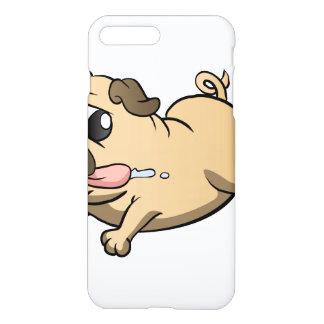 Capa iPhone 8 Plus/7 Plus desenhos animados running do pug