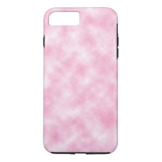Capa iPhone 8 Plus/7 Plus Design cor-de-rosa criado das nuvens