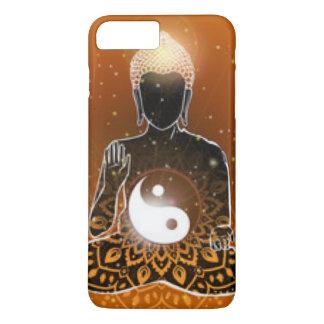 Capa iPhone 8 Plus/7 Plus Design de Ying Yang da meditação de Buddha