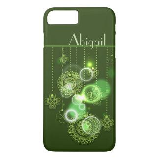 Capa iPhone 8 Plus/7 Plus Design irlandês personalizado bonito do trevo