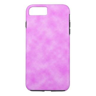 Capa iPhone 8 Plus/7 Plus Design nebuloso roxo Pinkish brilhante do teste