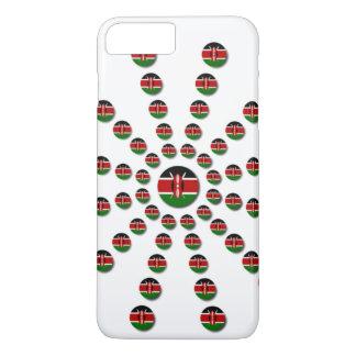 Capa iPhone 8 Plus/7 Plus Design patriótico da divisa da eleição nacional de