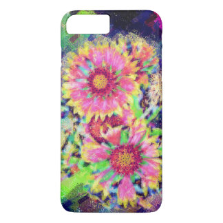 Capa iPhone 8 Plus/7 Plus Design resistente floral do caso iphone7