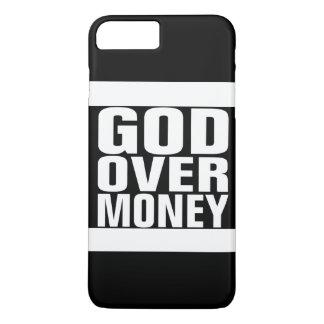 Capa iPhone 8 Plus/7 Plus Deus sobre o dinheiro