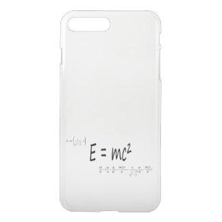 Capa iPhone 8 Plus/7 Plus E=mc2 fórmula, teoria de relatividade da física