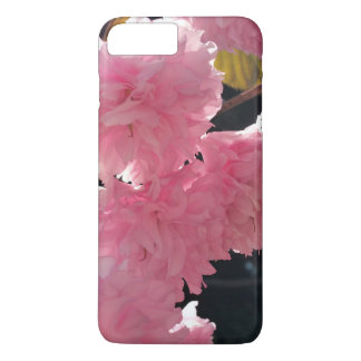 Capa iPhone 8 Plus/7 Plus é todas as flores cor-de-rosa