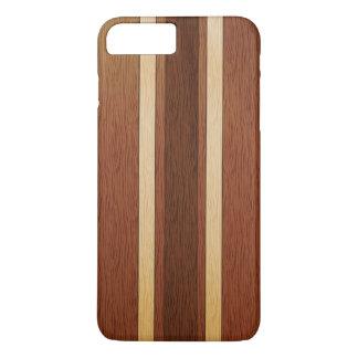 Capa iPhone 8 Plus/7 Plus Efeito de madeira à moda da grão