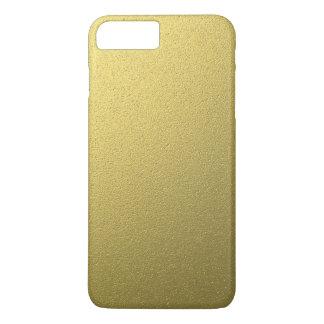Capa iPhone 8 Plus/7 Plus Efeito metálico da folha do ouro