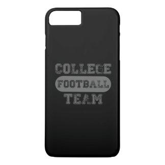 Capa iPhone 8 Plus/7 Plus Equipa de futebol retro da faculdade