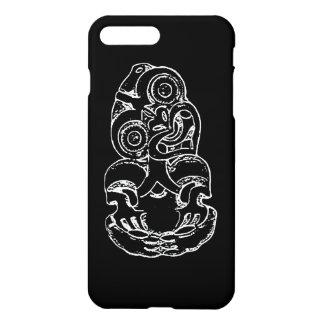 Capa iPhone 8 Plus/7 Plus Esboço maori de Hei-Tiki