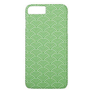 Capa iPhone 8 Plus/7 Plus Escalas de peixes de Matcha - caso