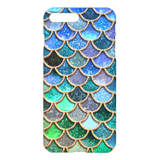 Capa iPhone 8 Plus/7 Plus Escalas multicoloridos Springlike da sereia do