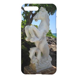 Capa iPhone 8 Plus/7 Plus Escultura do Mar-Cavalo, Waikoloa, Havaí