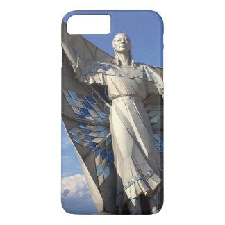 Capa iPhone 8 Plus/7 Plus Estátua da mulher do nativo americano