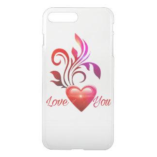Capa iPhone 8 Plus/7 Plus Estilo do amor