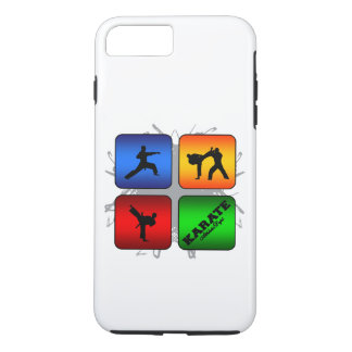 Capa iPhone 8 Plus/7 Plus Estilo urbano do karaté surpreendente